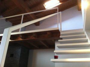 Soppalco in legno e ferro - Lombardo Casa